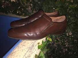 Zapatos Prototype de cuero marrones
