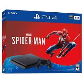 Ps4 1tb Spiderman Edition