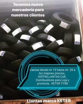 Neumáticos KETER.. DESDE RIN 13 AL 20