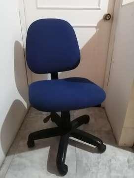 Excelente silla azul graduable perfecto estado uso casero PRECIO FIJO