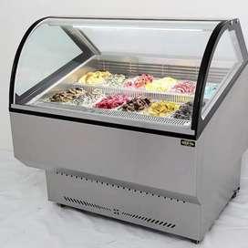 Vendo exhibidora de helados