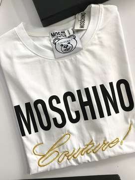 Camisetas masculinas 1705 moschino envio gratis