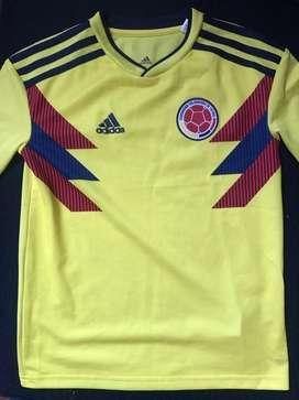 Camiseta Colombia Adidas Niños