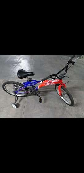 Bicicleta om Color Azul/Naranja