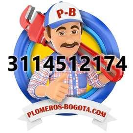 PLOMEROS BOGOTÁ, DESTAPE DE TUBERÍAS, Tel. 3114512174