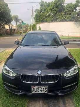 BMW Modelo 318i 2016 color Negro