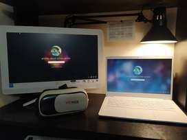 Pc all in one + Laptop + Gafas VR