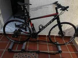 Bicicleta scott scale en fibra dw carbono