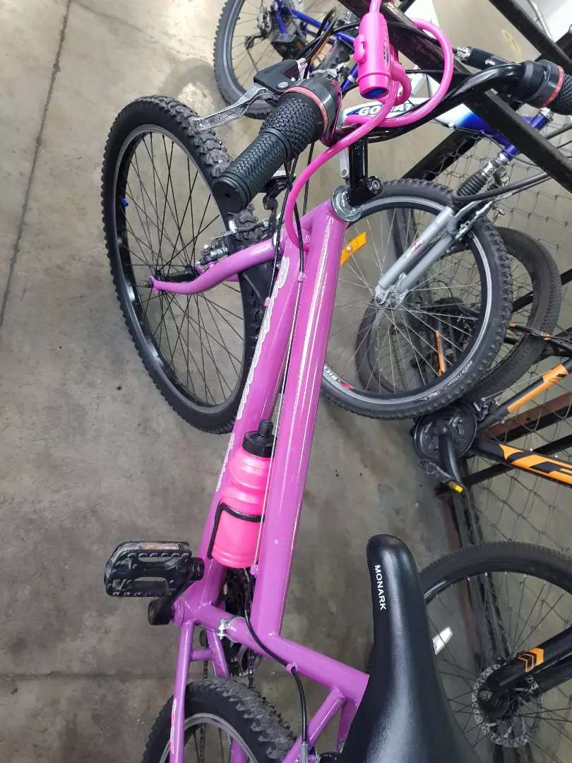 Bicicleta  como nueva 0
