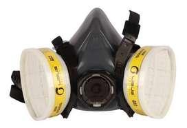 Mascarilla Mascara Respirador Gerson + G03 Filtro Gases