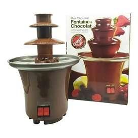 Fuente de chocolate 3 niveles