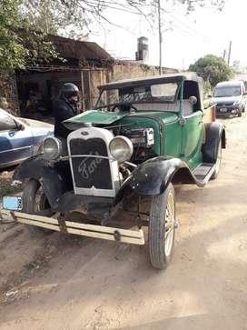 Ford A mod 1929 - con Título y Patente Alfanumérica - Camioneta