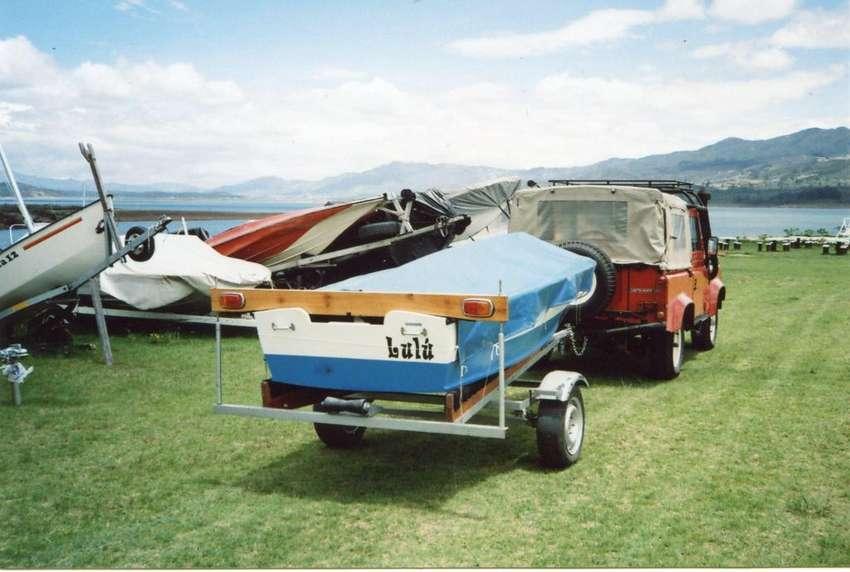 Bote multiusos a motor y remos modelo GlenL UTILITY con trailer 0