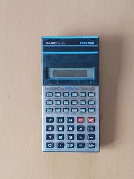 Calculadora científica Casio fx 82 D no funciona