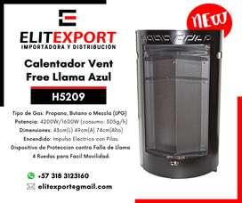 CALEFACTOR PORTATIL H5209 LLAMA AZU