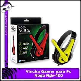 AURICULAR NOGA GAMER VOICE PARA PC NGV400