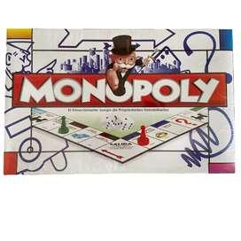 Monopolio Clasico Juego De Mesa Familiar