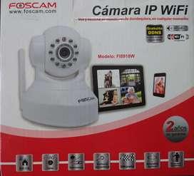 Remate de Cámaras IP inalámbricas, marca FOSCAM (Nuevas)