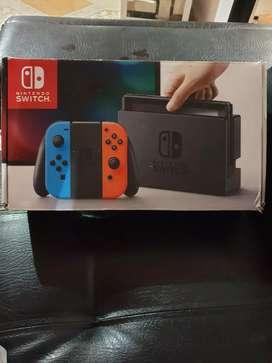 Vendo nintendo switch programada con 20 juegos