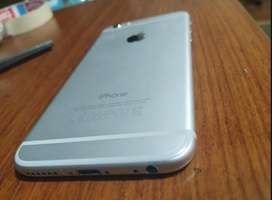 iPhone 6 -BLANCO CON HUELLA