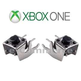 Gatillos Xbox One Bumper Rb Lb Control Mando Palanca Xbox One