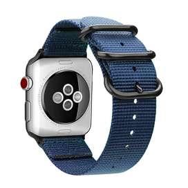 Correa Nylon Para Apple Watch 44 / 42 / 40 / 38 Mm