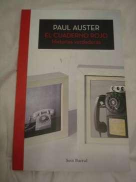"""""""El cuaderno rojo"""" Paul Auster"""