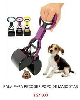 Pala para recoger limpiar popo heces de perros y gatos mascotas pooper scooper
