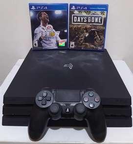 PS4 Pro Primera Generación + 2 Juegos Físicos