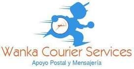 Servicio de mensajeria, courier, tramitacion de documentos. Lima.