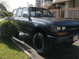 Toyota Land Cruiser Fj80 4x4 Full A/C Americano GLP