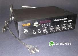 Vendo Amplificador Usb Bluetooth Pro Dj - para repuestos -