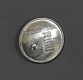 Moneda de plata 900 Argentina 78, 10 g, 1977, 1000 pesos, XF
