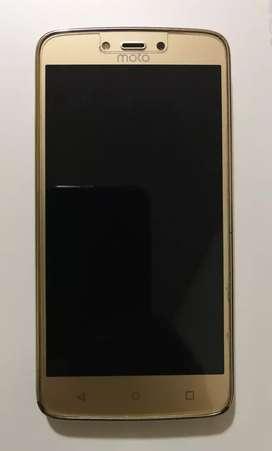 Celular Moto C plus (XT1724) 1 GB RAM 16 GB Almacenamiento Dorado