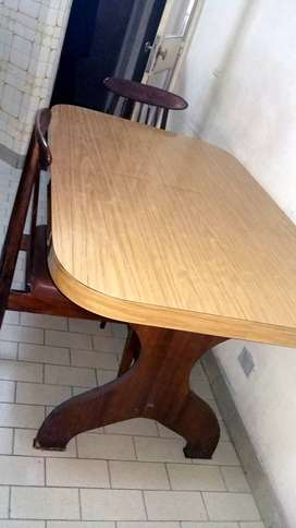 Mesa de madera cocina