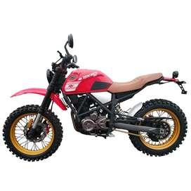 Motocicleta Axxo Scrambler 250