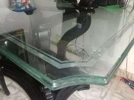 Vendo vidrio para comedor de seis puestos súper grueso