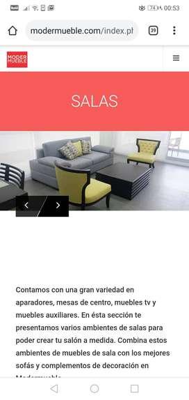 2 muebles de sala