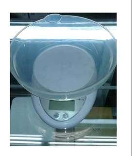 Gratis Envio Gramera Digital Báscula de Cocina Pesa 1gr A 5kg + Vasija