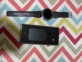 Vendo Samsung S10 Plus original más smartwach 42 mm
