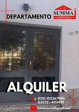 ALQUILER- DEPARTAMENTO EN RÍO SEGUNDO