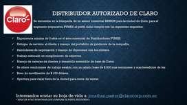 ASESOR COMERCIAL SENIOR PARA SERVICIOS DE CLARO