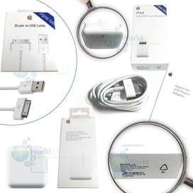 Cargador Cable De Datos Usb Ipad 1 2 3 10w 12w Original