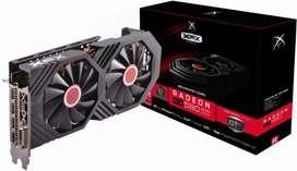 Tarjeta De Video AMD Radeon RX 580 8gb XFX GTS Black Edition