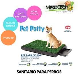 Sanitario/Baño para Perros Portátil, Antibacterial y Fácil de Limpiar!