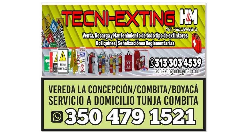 EXTINTORES TECNI-EXTING H & M.