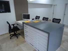Mueble de atencion - Counter de Recepcion - especial para oficinas de arquitectura