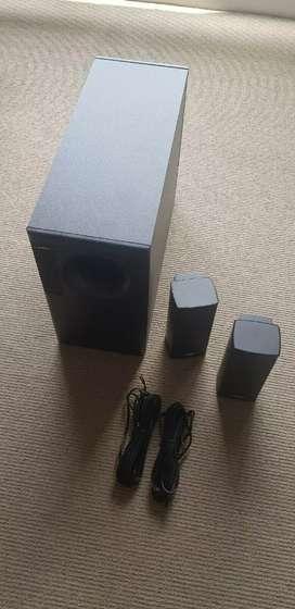 Bose Acoustimass 5, en excelente estado, con cables originales.