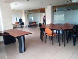 La Coruña, oficina, 207 m2, amoblada, 5 ambientes, 4 baños, 1 parqueadero