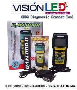 Escaner Automotriz Profesional U581 Can Obd Ii Obd2
